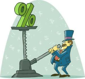 Alta tasa de interés