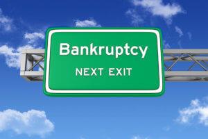 Tome la próxima salida declarándose en bancarrota